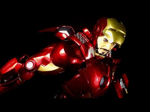 Figma Iron Man Mark VII Full Spec Ver. (The Avengers) | REVIEW 187