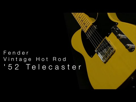 Fender American Vintage Hot Rod '52 Telecaster  Wildwood Guitars Overview Music Videos