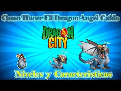 Como Hacer El Dragon Angel Caido De Dragon City video