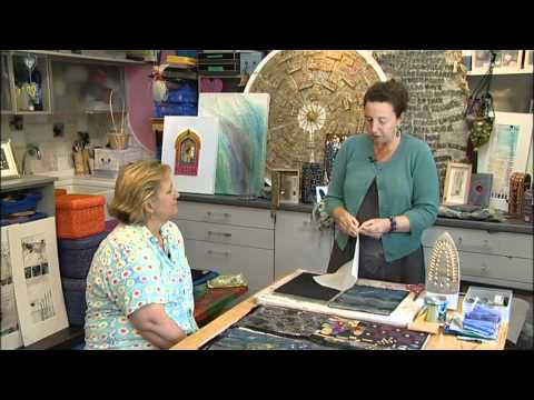 Mixed Media Art and Stitch with Angie Hughes