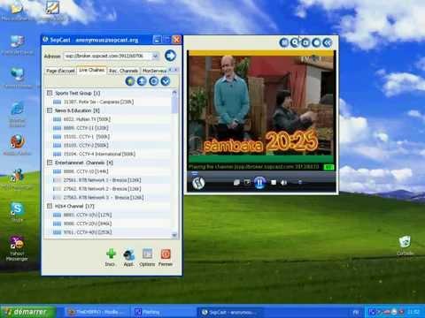 Thedvbpro -- شرح تشغيل القنوات عن طريق البرنامج Sopcast