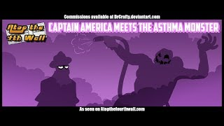Captain America Meets the Asthma Monster - Atop the Fourth Wall