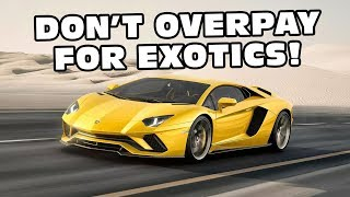 How To Pay The Lowest Price Buying An Exotic Car