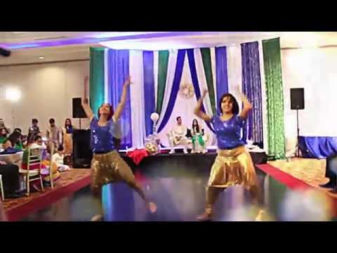 Wedding Bollywood Dance (nagada Sang, Blue Eyes, Gandi Baat, Kamli, Baby Doll) video