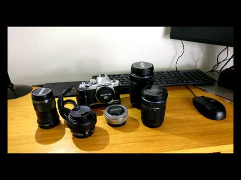 Whats in my camera bag? Micro Four Thirds Edition!