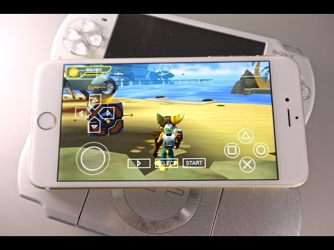 How To Install Full Speed PSP Emulator With Games on iPhone. iPad & iPod Touch