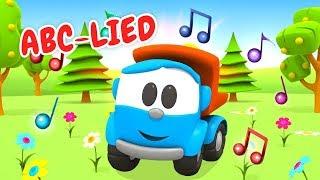 Kinderlieder auf Deutsch - ABC Lied - Cartoon mit Leo dem Lastwagen