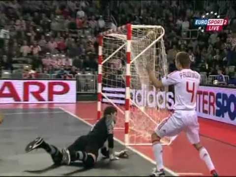10 лучших голов Чемпионата Европы по мини-футболу 2012г