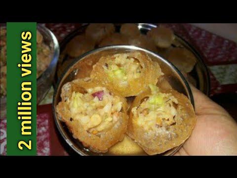 ফুচকা বানানোর সব থেকে সহজ পদ্ধতি||Fuchka pani puri golgappa Recipe||Resminar Rannaghar.