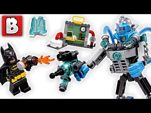 LEGO Batman Movie Mr. Freeze Ice Attack  Set 70901 | Unbox Build Time Lapse Review
