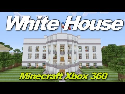 Minecraft Xbox 360: The White House! (House Tours of Danville Episode 19)