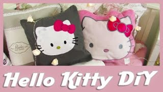 DiY Hello Kitty Kissen / DiY Hello Kitty Pillow