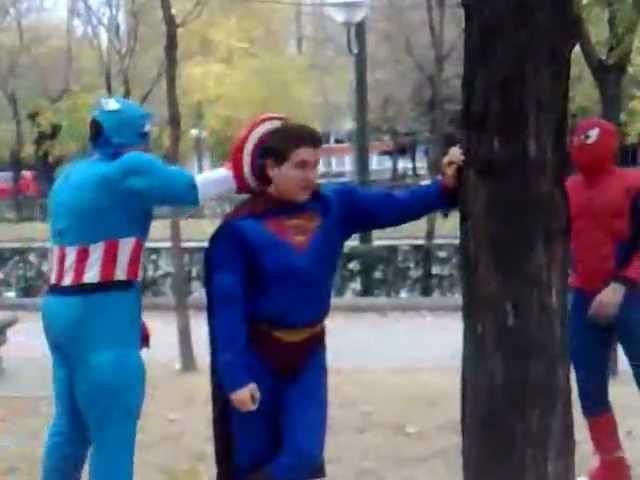 Batalla Superhéroes de Alcalá: Marvel vs DC