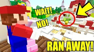 Minecraft | Super Mario Series | CARTER RUNS AWAY FROM HOME! *LOST!* [297]