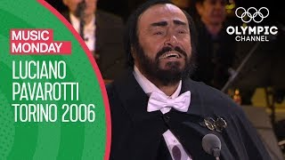 Luciano Pavarotti 39 S Last Public Performance Torino 2006 Opening Ceremony Music Monday