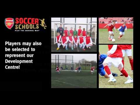 Essex Arsenal Soccer Schools Progression Centre Trial
