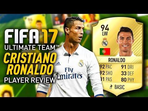 FIFA 17 CRISTIANO RONALDO (94) PLAYER REVIEW! FIFA 17 ULTIMATE TEAM!