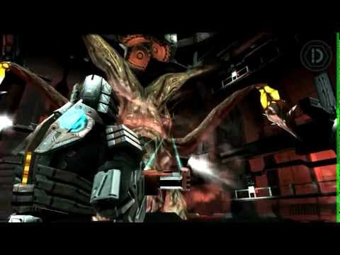 Dead space (jefe final) apk + SD en motorola Defy (Screencast)
