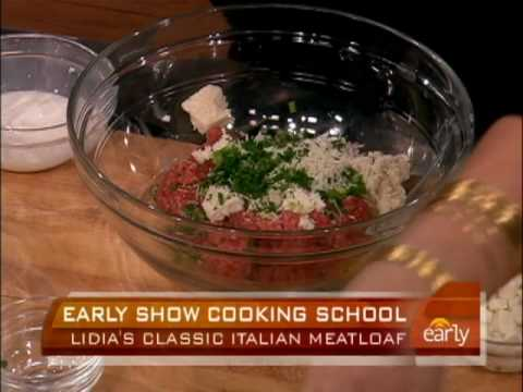 Lidia's Italian Meatloaf