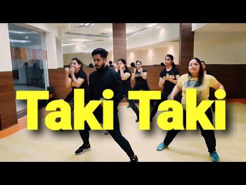 DJ Snake - Taki Taki ft. Selena Gomez, Ozuna, Cardi B | zumba dance fitness workout by amit MP3