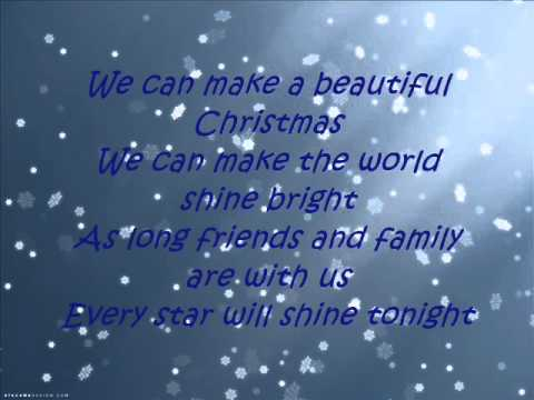 Big Time Rush Beautiful Christmas (Lyrics HQ Full)