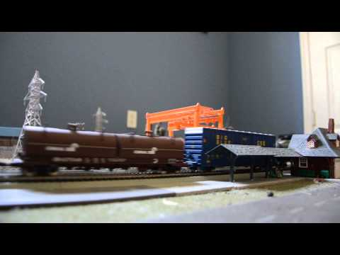 HO Scale NS 32A with SD70M-2 Leader