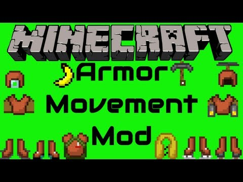 Armor Movement Mod for Minecraft 1.6.1   Sorenus Mods 25