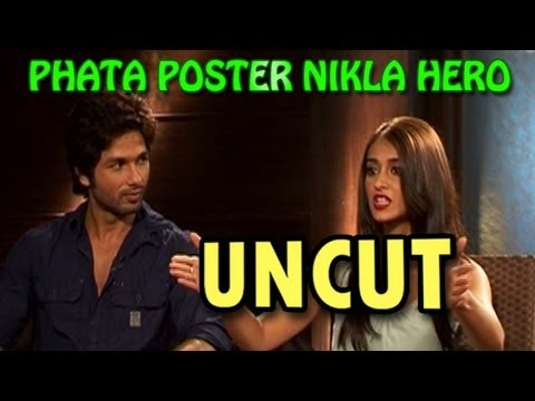Phata Poster Nikla Hero | Shahid Kapoor & Ileana D'Cruz talk about their new movie | UNCUT