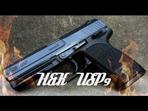 H&K USP 9mm HD Review