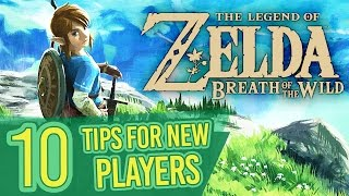 The Legend Of Zelda Breath Of The Wild: Tips + Tricks For New Players!