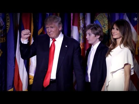 Melania Trump Will Not Move to White House Until Barron Finishes School Year