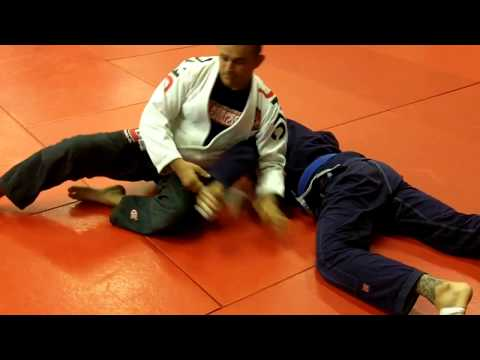 Jiu Jitsu Techniques - Armbar from Knee on Belly Image 1