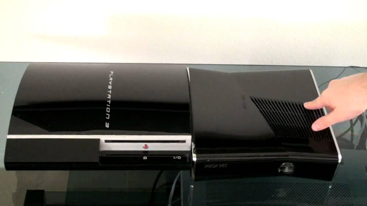 Ps3 Fat vs Slim Xbox 360 Slim vs Ps3 Fat