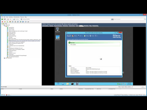 Installing Forefront Client Security 1.5 on Windows Server 2012 Essentials