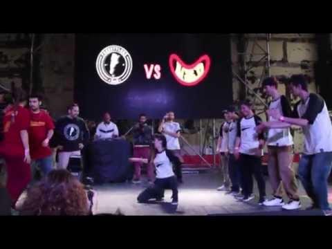 FREESTYLERZ vs NSD - Festival Néctar Cultura Hip Hop Argentina 2015