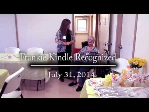 Frankie Kindle Recognized by DETCOG & RSVP