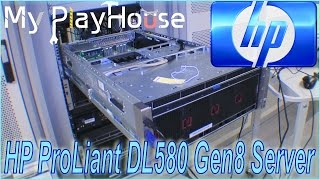 HP DL580 G8 with 60 cores 1TB RAM, awaiting repair - 233