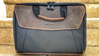 WaterField Designs Air Porter & Air Caddy Ballistic + Leather Bags Overview