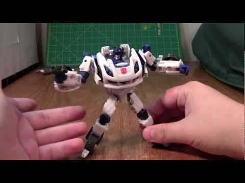 Transformers Fall of Cybertron Jazz Review (Generations Deluxe Toy)