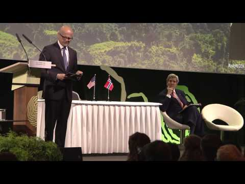 Oslo Redd Exchange 2016: Vidar Helgesen, Minister of Climate and Environment, Norway