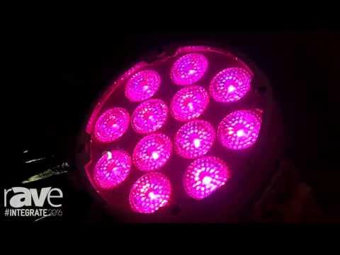Integrate 2016: Event Lighting Demos Its LED PAR Line