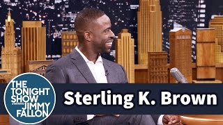 Sterling K. Brown's Scene Was Cut from Jimmy's Movie Taxi
