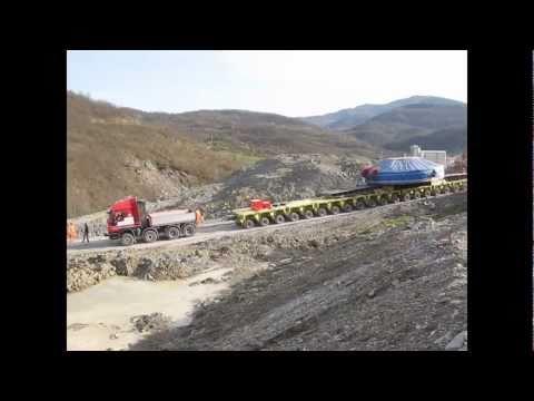 Trasporto Eccezionale Talpa Herrenknecht TBM S-574