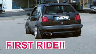 NICOS GOLF MK2 GT - back on the road!