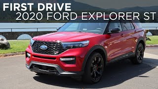2020 Ford Explorer ST   First Drive   Driving.ca