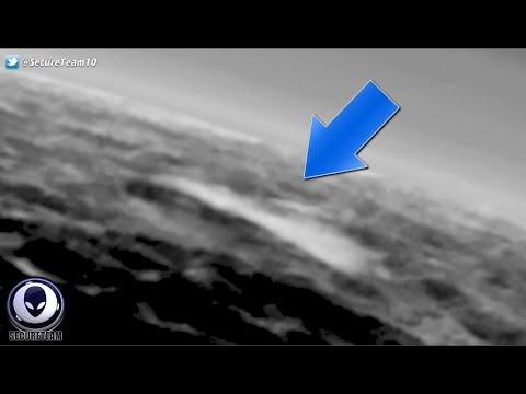 NASA HIDING Huge Smoke Trail Coming From SOMETHING On Pluto! 6/5/16
