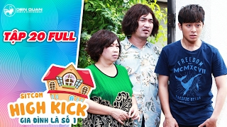 Gia đình là số 1 sitcom | tập 20 full: Tiến Luật, Gin Tuấn Kiệt đột nhập nhà Yumi để tìm xác chết