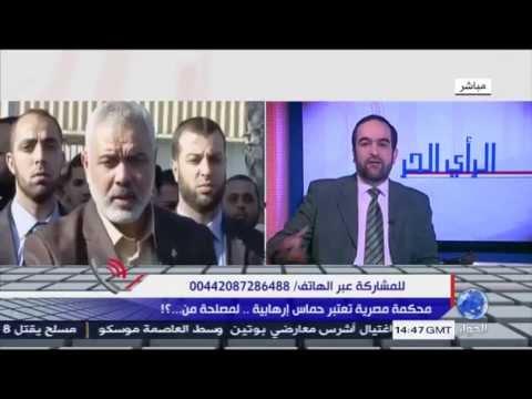 مؤيد للسيسي : قاضي اتهم حماس بالارهاب اراد خدمة الاخوان !!!