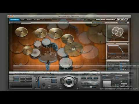 Aula em português BFD2 e superior drummer 2. NI's Komplete 8 Tutori