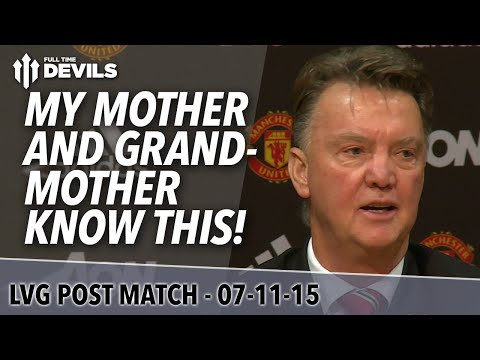 Manchester United 2-0 West Bromwich Albion | Louis Van Gaal Post Match Presser